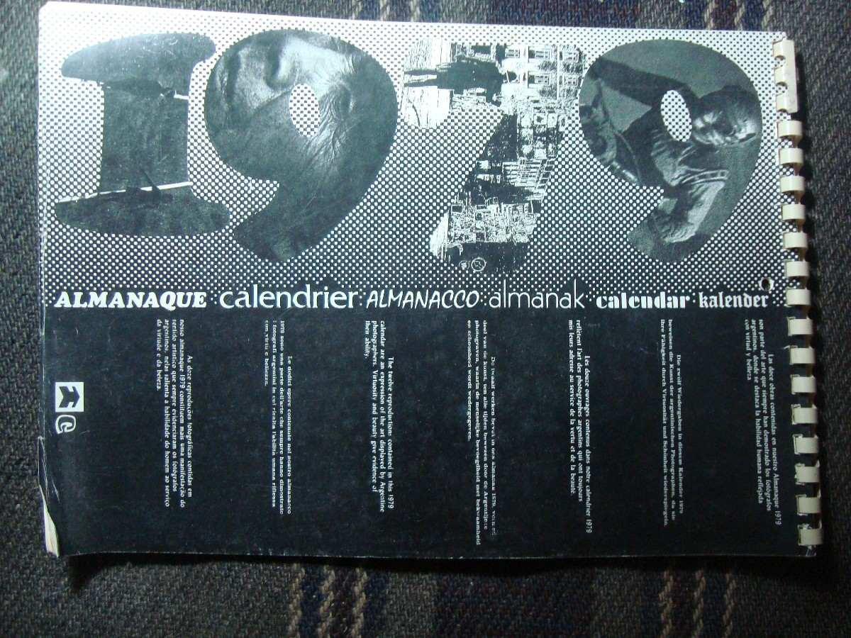 Calendario Del 1979.Almanaque Calendario Casa Ottonello 1979 Completo Impecable 55 00