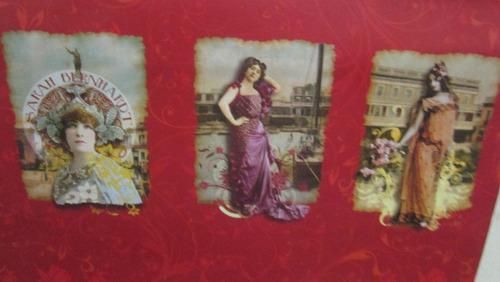 almanaque con fotos tomadas por léopold-émile reutlinger