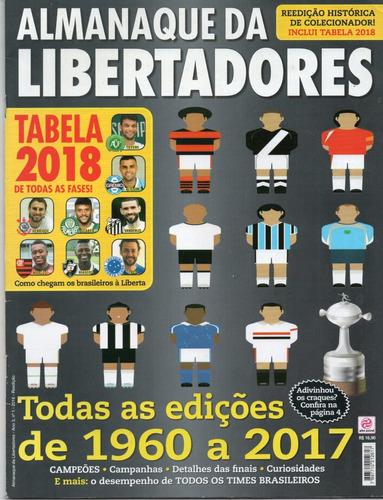 almanaque da libertadores edições de 1960 a 2017 r 36 00 em