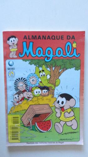 almanaque da magali nºs 5-9-17 ed. globo