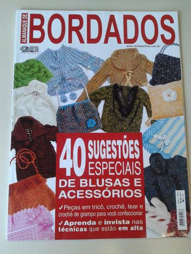 almanaque de bordados - peças em tricô, crochê e tear - nº2