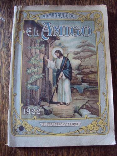 almanaque de el amigo para 1922
