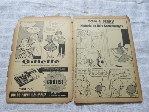 almanaque de férias de papai noel 100 - ebal - 1965