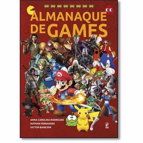 almanaque de games - novo - 2016 - anna carolina rodrigues