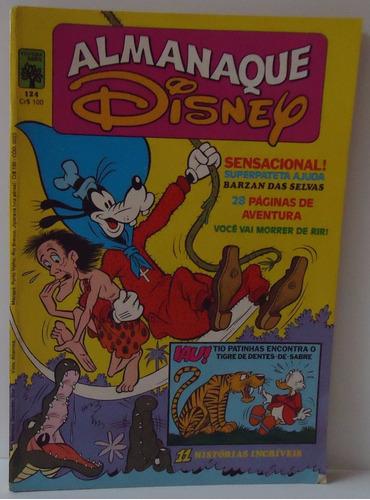 almanaque disney - nº 124 - setembro 1981 by trekus vintage