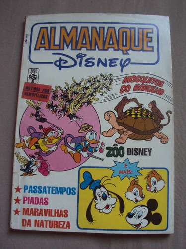 almanaque disney  nº 234