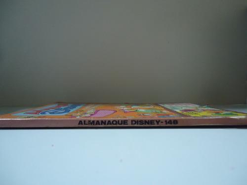 almanaque disney- nº148- ed. abril- setembro 1983
