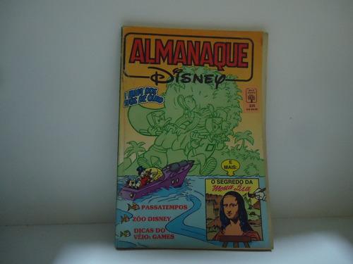 almanaque disney - nº239 - ed.abril- abril 91