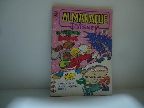 almanaque disney - nº250  - ed.abril- março 92