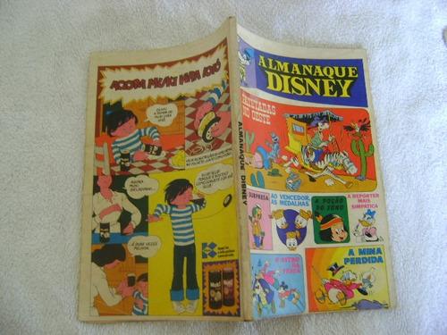 almanaque disney nº32 janeiro 1974 ed abril leia anúncio!