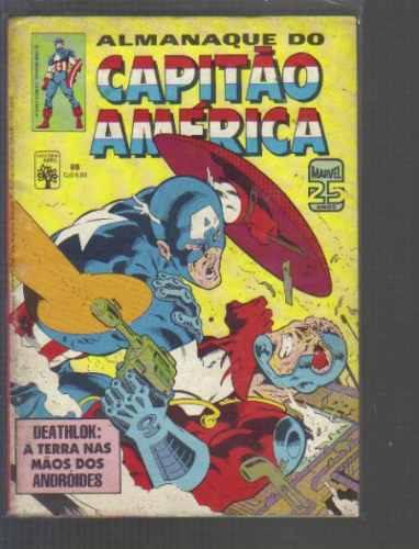 almanaque do capitao america numero 88 - editora abril