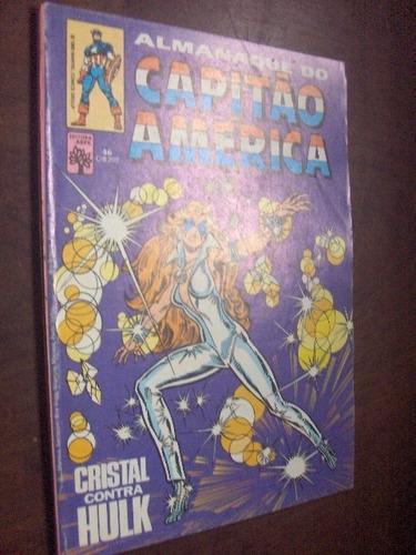 almanaque do capitão america n 46 de 1983