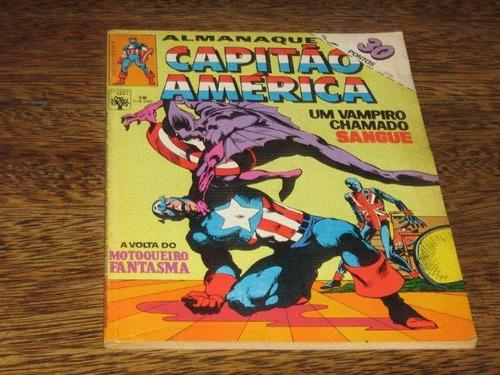 almanaque do capitão américa nº 58 março/1984 editora abril