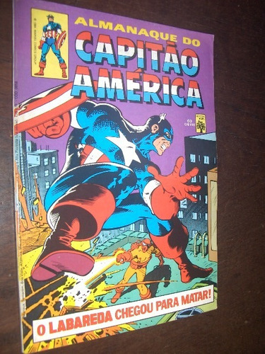 almanaque do capitão america n 60 de 1984