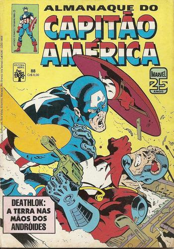 almanaque do capitão américa nº 88