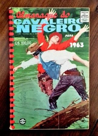 almanaque do cavaleiro negro 1963 (rge) - ótimo