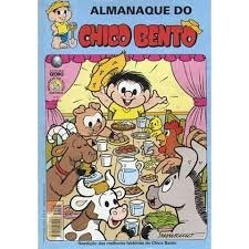 almanaque do chico bento - globo -. nºs 57, 68, 71, 78, 79.