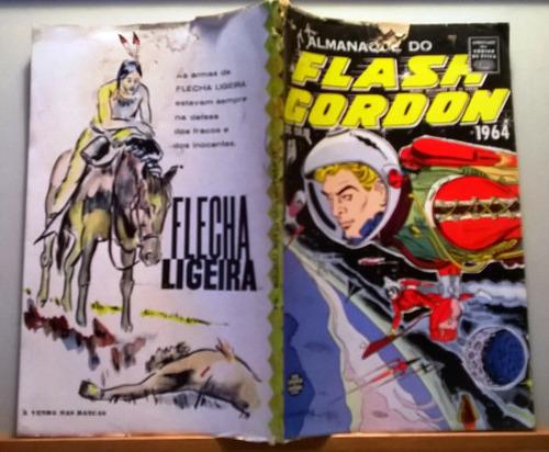 almanaque do flash gordon rge para 1964
