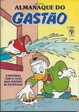 almanaque do gastão  n. 2 - julho de 1990