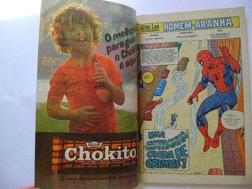 almanaque do homem aranha nº9 maio junho 1982 rge lindo!