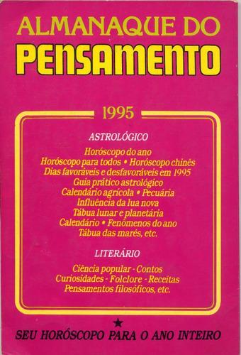 almanaque do pensamento - 1995
