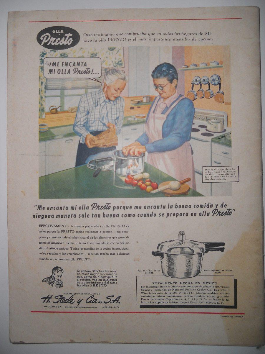 Almanaque Dulce 1951 ( Recetario De Repostería ) - $ 400.00 en ...