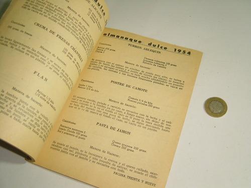 almanaque dulce 1954