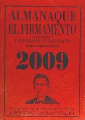 almanaque el firmamento 2009(libro )