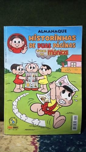 almanaque historinhas de 2 páginas - 2 revistas (gibi)