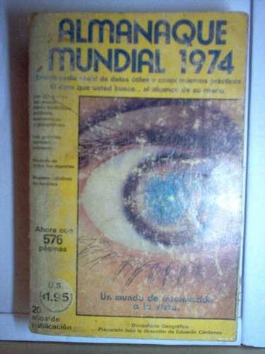 almanaque mundial 1974                mxa