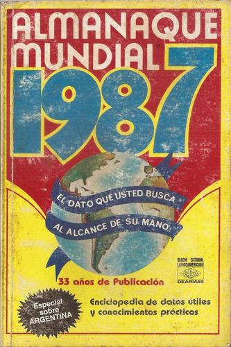 almanaque mundial 1987