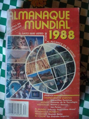 almanaque mundial 1988      mxa