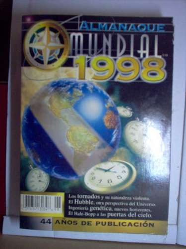 almanaque mundial 1998 mxa