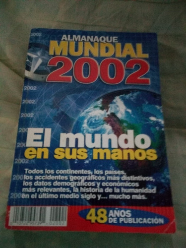 almanaque mundial 2002, coleccionable, remate