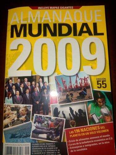 almanaque mundial 2009 y 2013