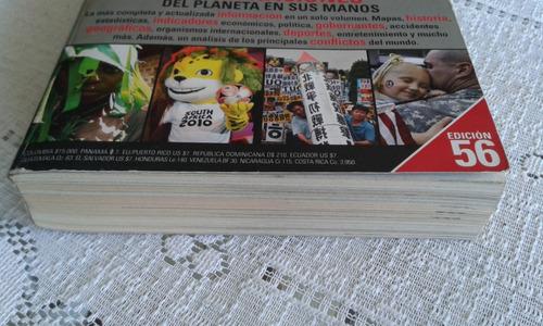 almanaque mundial 2010 edición 56. editorial televisa