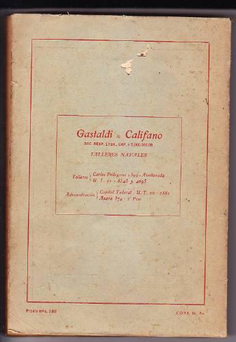 almanaque náutico 1947 orión
