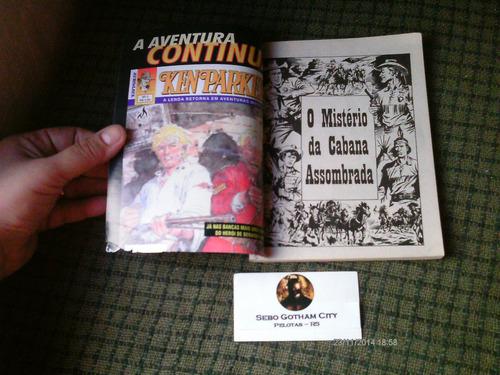 almanaque tex n. 4 - mythos editora - com defeito na capa