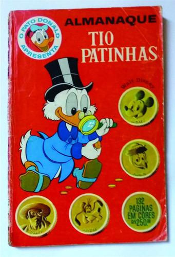 almanaque tio patinhas nº 2 (1964) original em bom estado