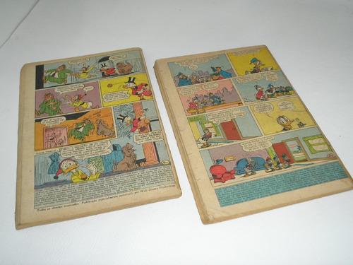 almanaque tio patinhas nºs 33 e 52 - anos 60