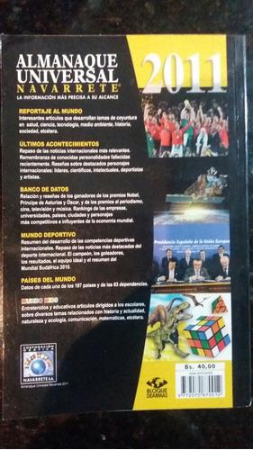 almanaque universal 2011