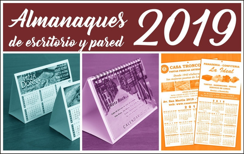 almanaques 2019