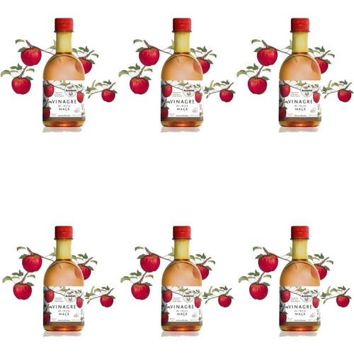 almaromi vinagre de maçã 12x400ml (kit c/06)