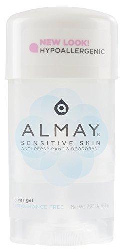 almay desodorante antitranspirante en gel transparente sin p