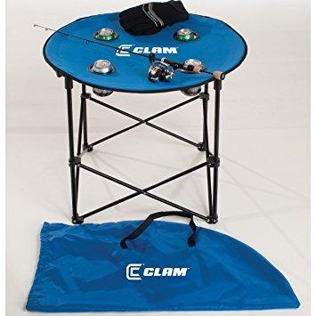 almeja 9181 quick-pack mesa redonda con carry case