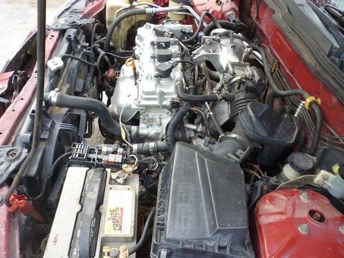 almera 2003 accidentado ,motor , partes