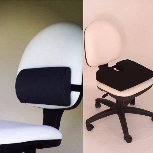 almhoadilla lumbar y de asiento kit oficina 2 de spine-roll