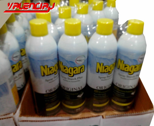 almidon  niagara  en aerosol lavanderia 4  x 567gr