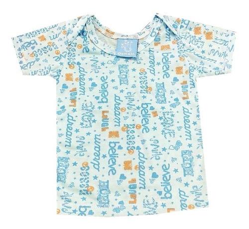 almilla camiseta bebes algodón manga corta estampadas