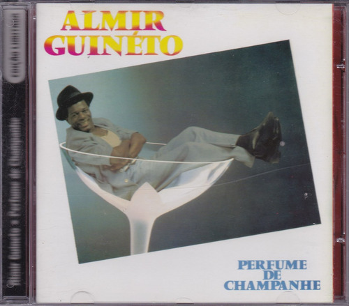 almir guineto - cd perfume de champanhe - 1986 - seminovo